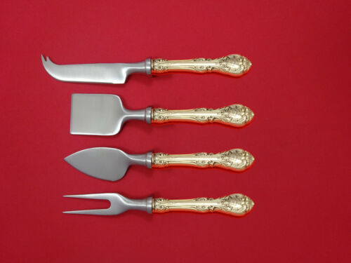 King Edward by Gorham Sterling Silver Cheese Serving Set 4 Piece HHWS  Custom