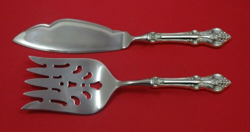 El Grandee by Towle Sterling Silver Fish Serving Set 2 Piece Custom Made HHWS
