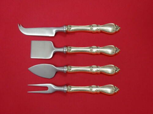Queen Elizabeth I by Towle Sterling Silver Cheese Serving Set 4pc HHWS Custom