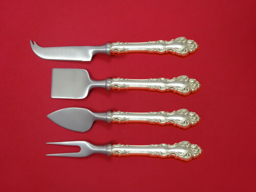 Spanish Baroque by Reed and Barton Sterling Silver Cheese Serving Set 4pc Custom