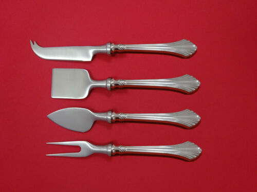 French Regency by Wallace Sterling Silver Cheese Serving Set 4pc HHWS  Custom