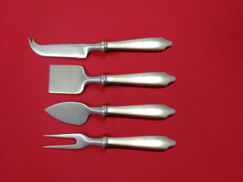 Clinton by Tiffany and Co Sterling Silver Cheese Serving Set 4pc HHWS Custom