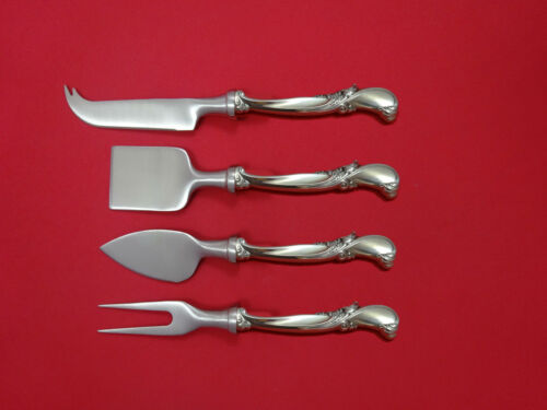 Waltz of Spring by Wallace Sterling Silver Cheese Serving Set 4pc HHWS  Custom