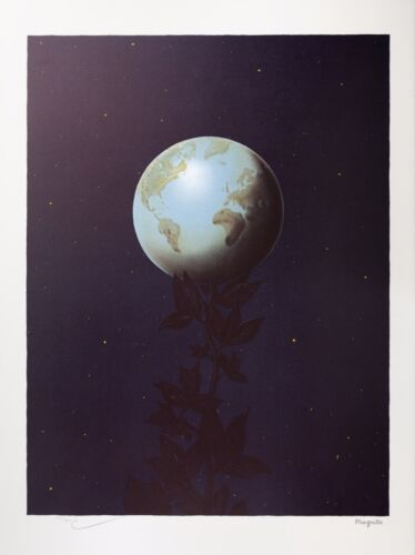 Rene Magritte - The Great Style (signed & numbered lithograph)