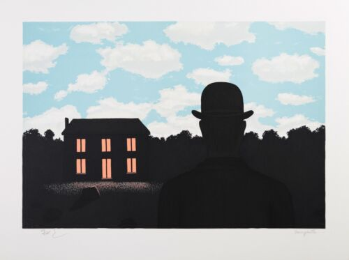 René Magritte - The Empire of Light (signed & numbered lithograph)