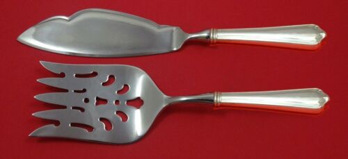 Marlborough by Watson Sterling Silver Fish Serving Set 2 Piece Custom HHWS