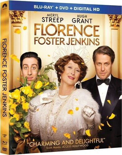 Florence Foster Jenkins - 2 DISC SET (2016, Blu-ray NEW)