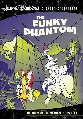 Hanna-Barbera Classic Collection: The Funky Phantom - The  (2010, DVD NEW) DVD-R