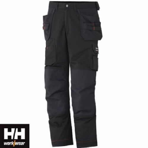 Mens Helly Hansen Work Trousers Glasgow Combat Trousers Cargo Pant Multi Pocket