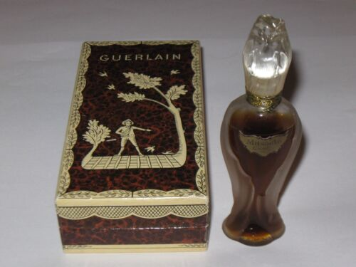 Vintage Guerlain Mitsouko Perfume Bottle/Box Rosebud/Amphora 1/2 OZ Sealed - #3