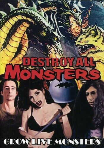 Destroy All Monsters: Grow Live Monsters (2007, DVD NEW)