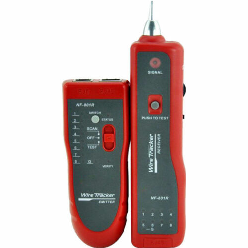 Doss Network Ethernet Cable Tracer Lan Tester CAT5 CAT6 RJ11 RJ45/Wire Detector