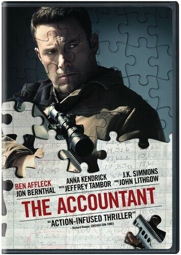 Accountant (2017, DVD NEW)