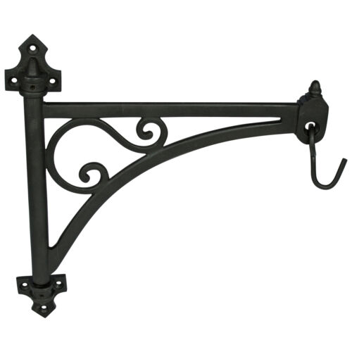 Cast Iron Vintage Style Swivel Wall Bracket for Plants Wind Chime & Hanging