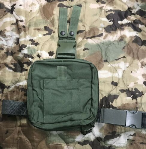LBT MOLLE Drop Leg Medical Pouch (London Bridge Trading) OD GreenPouches - 158437