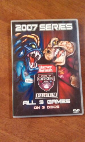 STATE OF ORIGIN 2007 SERIES DVD IN GOOD CONDITION