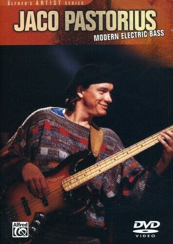 Jaco Pastorius: Modern Electric Bass (2003, DVD NEW)