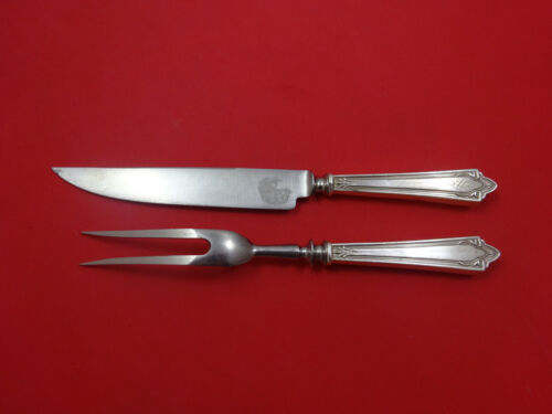 Doric by Manchester Sterling Silver Steak Carving Set 2pc