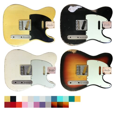 Franchin Guitars BODY Mars relic aged nitro alder Telecaster type *MADE TO ORDER