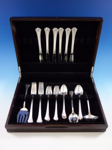 Eighteenth Century by Reed & Barton Sterling Silver Flatware Set Service 32 Pcs