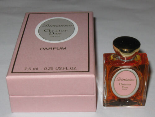 Vintage Christian Dior Diorissimo Perfume Bottle/Box - 1/4 OZ - 7.5 ML - Full #3