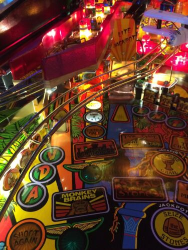 Top Holiday Gifts Eject Light for Indiana Jones Pinball - Interactive with Game Play IJ