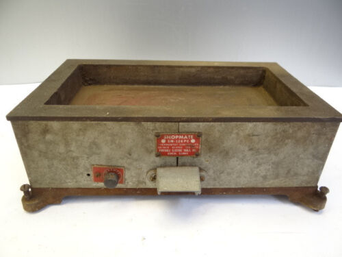 Vintage Industrial Shop Mate SM-126PC Thermostat Controlled Stove Oven Base Part