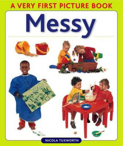 Messy by Nicola Tuxworth (English) Hardcover Book Free Shipping!