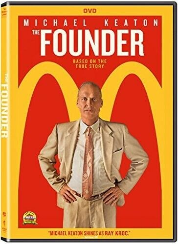 Founder (2017, DVD NEW)