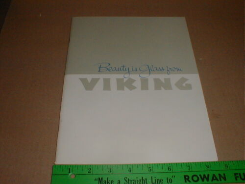 American Viking Glass Company New Martinsville WV West Virginia 1967 s/c book
