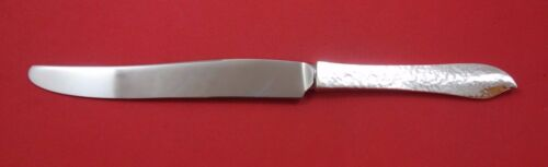 Ivy by Old Newbury Crafters ONC Sterling Silver Dinner Knife French Hammered