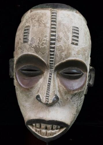 Old Tribal Igbo Spirit Mask Nigeria BN 39