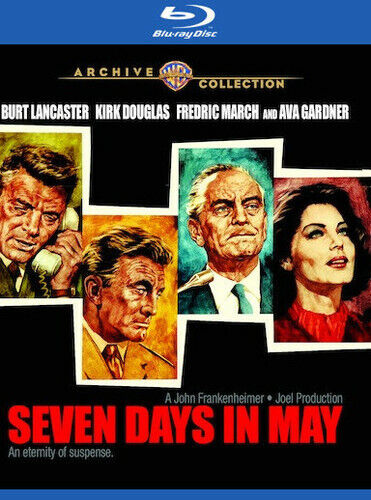 Seven Days In May (1964) (2017, Blu-ray NEW)
