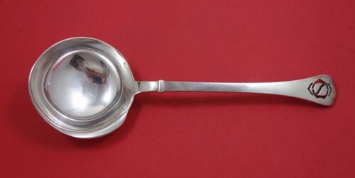 Richelieu by Puiforcat French Sterling Silver Bouillon Ladle Pierced w/ Mono 10""