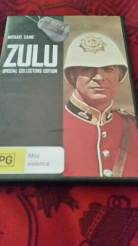 ZULU - MICHAEL  CAINE  SPECIAL  COLLECTORS EDITION  2 DISC  DVD R4