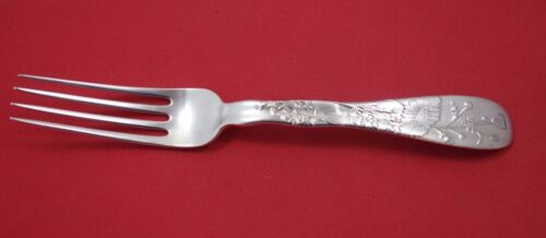 """Lap Over Edge Acid Etched by Tiffany & Co. Sterling Silver Dinner Fork Daisy 8"""""""