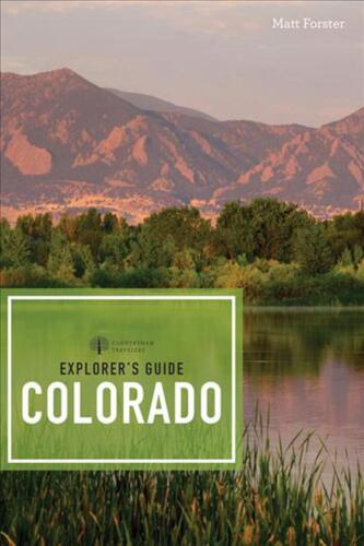 Explorer's Guide Colorado by Matt Forster Paperback Book Free Shipping!