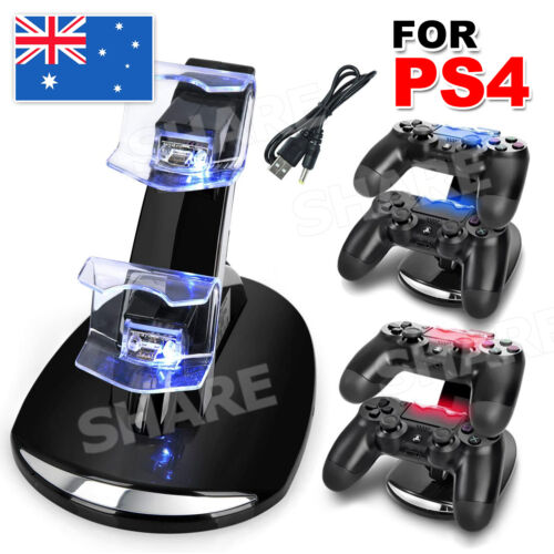 Dual Charger Dock Charging Stand cable USB for Sony PS4 playstation Controller