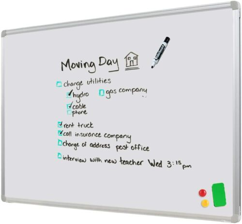Wall Mounted Magnetic Whiteboard 60x90 cm with free gift