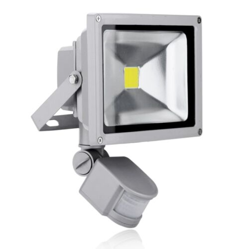 New PIR Motion Sensor LED Floodlight 10W/20W/30W/50W Security Flood Light Sensor