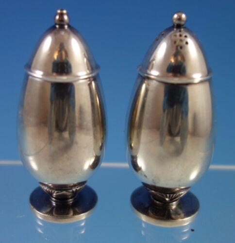 Cactus by Georg Jensen Sterling Silver Salt & Pepper Shakers 2pc #629B (#1606)