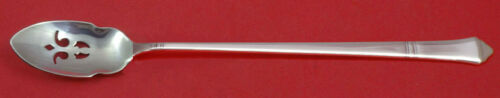 "Windham By Tiffany Sterling Silver Olive Spoon Pierced Long 7 3/8"" Custom Made"