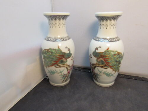 Chinese Famille Rose Porcelain Vase  republic period mark