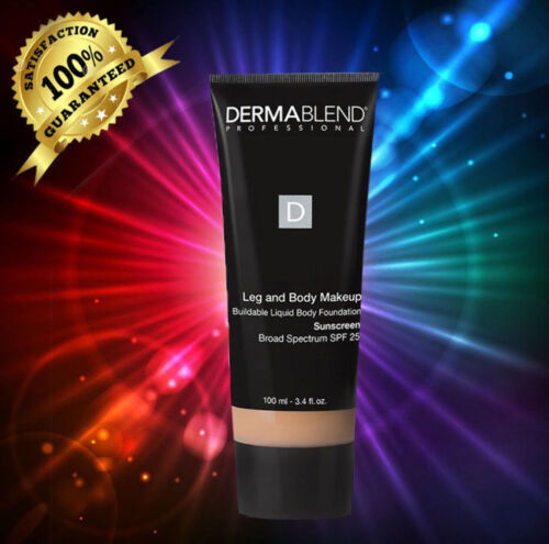 Dermablend SPF  Leg And Body 'MAKEUP Toast'(TAN GOLDEN) 3.4 oz / 100 ML