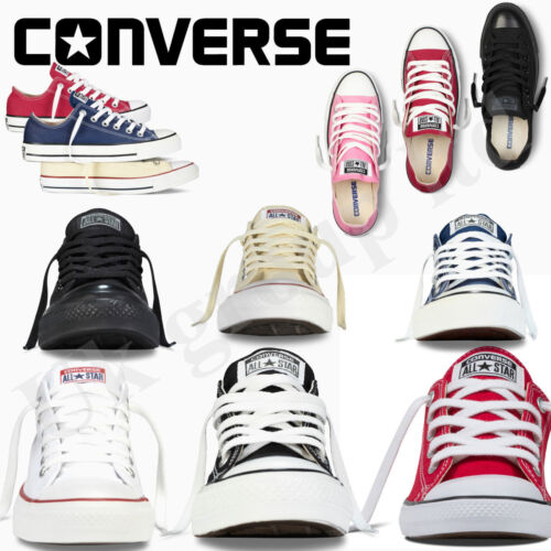 Converse Women Men Unisex All Star  Low Top Classic  AVAILABLE IN ALL SIZES  <br/> ************100% AUTHANTIC CONVERSE ALL STAR***********