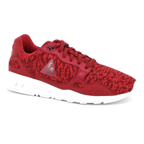 Le Coq Sportif Mens Shoes Footwear Trainers R900 Camo Knit - Red