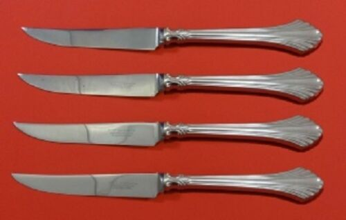 French Regency By Wallace Sterling Silver Steak Knife Set 4-PC Custom