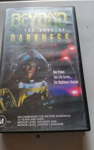 Beyond The Edge of Darkness VHS Video Tape Sci Fi Cult Horror - Rare!