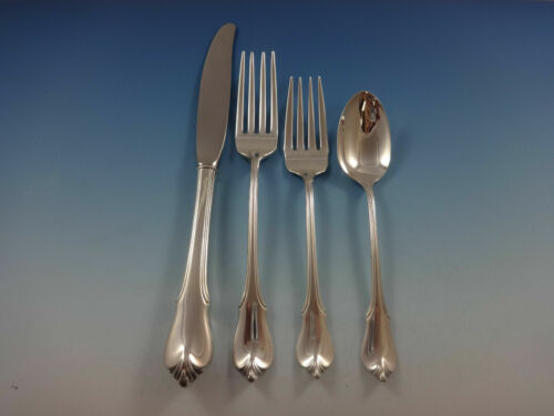 Grand Colonial By Wallace Sterling Silver Regular Size Place Setting(s) 4pc