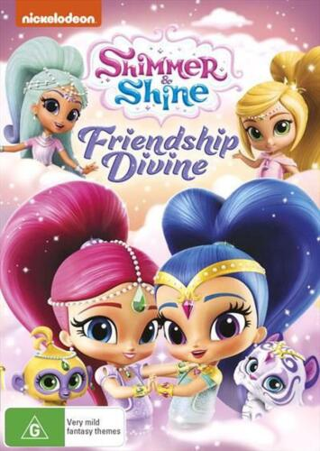 Shimmer And Shine - Friendship Divine - DVD Region 4 Free Shipping!